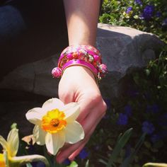 Baubles and blossoms on a sunny day . Nothing better! Fun Events, Dream Garden, Sunny Days, Blossoms, Amazing Photography, Vera Bradley, Cuff Bracelets, Pictures, Beauty