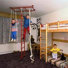Dětský pokoj Play Houses, Room Inspiration, Wardrobe Rack, Playground, Playroom, Home Furniture, Children, Bed, Modern