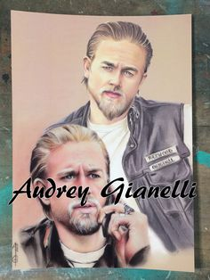 fanart, marque page, bookmark, merchandising, geek, nerd, art, artist, artiste, drawing,dessin, illustration, comics, sons of anarchy, soa, Jax Teller, Charlie Hunnam, Kurt Sutter, Jackson Teller