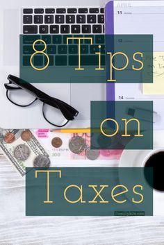 8 Tips on Taxes - It's Really Kita