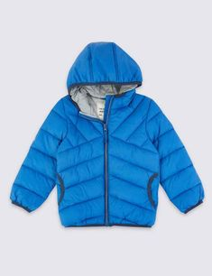 Shop this Lightweight Padded Coat Months - 7 Years) at Marks & Spencer. Browse more styles at Marks & Spencer US Slim Fit Polo Shirts, Casual Shirts, Non Iron Shirts, Kids Coats, Kids Swimwear, Chino Shorts, School Uniform, Workout Wear, Shirt Shop