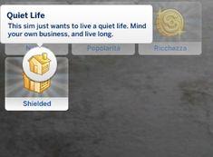 Mod The Sims - Quiet Life Aspiration - fotografie Sims Mods, Sims 4 Game Mods, Sims 4 Mods Clothes, Sims Games, Sims 4 Clothing, Sims 4 Cc Packs, Sims 4 Mm Cc, Sims 4 Traits, Muebles Sims 4 Cc
