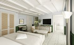 With completion set for the end of the year, The Surf Clubis set to be one of the hottest places to stay in Miami. In addition to the original Russell Pancoast building that's being carefully restored – and the shiny new Four Seasons-operated add...
