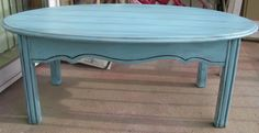 coffee table...love the color