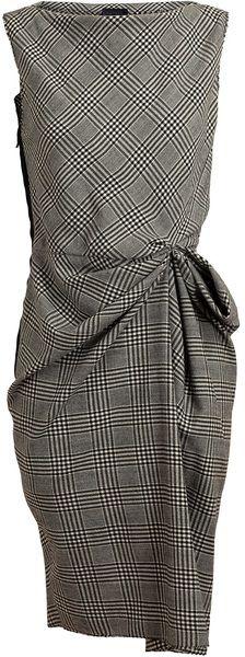 LANVIN Wool Dress - Lyst