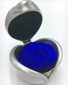 Handmade Preserved Flower Rose Never Withered Roses Never Faded Flowers Fresh Flower Rose Immortal Flower Rose Perfect Gift for Valentines Day Birthday and Wedding AnniversaryBlue Rose ** To view further for this item, visit the image link.