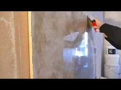Como aplicar estuco veneciano a tres colores (marmolizado) venetian plaster. (tutorial) #11 - YouTube