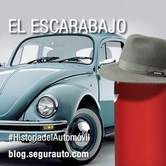 Historia del automóvil: el Volkswagen Escarabajo #coches #automoviles #seguros #SeguroDeAutomovil #historia #coches  http://blog.segurauto.com/historia_del_automovil_volkswagen_escarabajo/