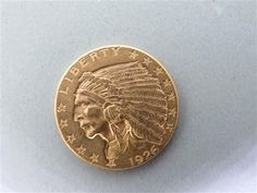 1926 Indian Head $2.5 Dollar Quarter Eagle US Gold Coin. Available @ hamptonauction.com for February 9th, 2014 Auction!