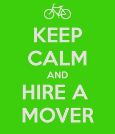 keep clam and hire a mover text