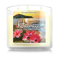Bougie 3 Mèches Hawaii Bath and Body Works
