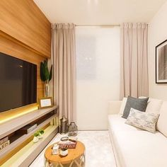 Bom dia com esta sala de tv que além de linda é muito acolhedora.  Com destaque para as prateleiras iluminadas que deram um toque especial. Amei@pontodecor Snap:  hi.homeidea  http://ift.tt/23aANCi #bloghomeidea #olioliteam #arquitetura #ambiente #archdecor #archdesign #cozinha #kitchen #arquiteturadeinteriores #home #homedecor #pontodecor #lovedecor #homedesign #instadecor #interiordesign #designdecor #decordesign #decoracao #decoration #love #instagood #decoracaodeinteriores #lovedecor…