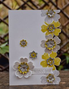 Pretty card by Amanda Burditt--Flower Shop Stamps and Boho Punch