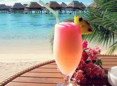 Maledives and drink.