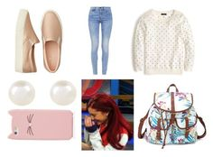 """""""Cat Valentine Outfit 2"""" by ellie-woodson on Polyvore featuring mode, J.Crew, G-Star, American Eagle Outfitters, Charlotte Russe, Accessorize en Kate Spade"""
