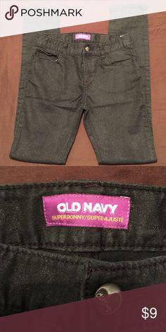 Super Skinny Jeans Old Navy Super Skinny Jeans. EUC. Adjustable waist Old Navy Bottoms Jeans