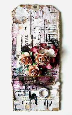 Partiesdescrap: 1er MIXED MEDIA TAG