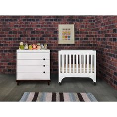 Baby Mod Mini Crib  $169  space saver and so much cuter than a pack and play