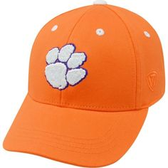 Top of the World Youth Clemson Tigers Orange Rookie Hat, Kids Unisex, Team
