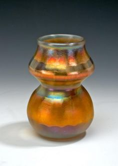 L. C. Tiffany glass vase