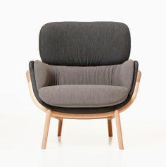 elysia lounge chair by luca nichetto for de la espada