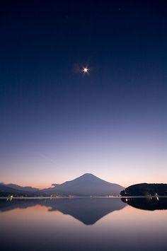 富士山、山中湖、絶景/Mt, Fuji & Yamanaka lake