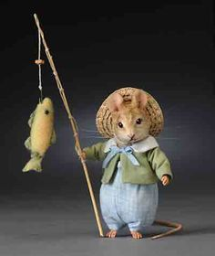 Little Tommy Tittlemouse by R. John Wright Dolls