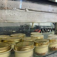 #anovafoodnerd photo of the day! @misterthejay cooking up a batch of #sousvide mini-cheesecakes with ease. Batch cooking with the Anova Precision Cooker container is a breeze and whats better than cheesecake all week?! Tasty, Yummy Food, Mini Cheesecakes, Batch Cooking, Sous Vide, Breeze, Cooker, Container, Drinks