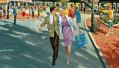 Stepping back in time for Dapper Day at Walt Disney World Disney Parks, Walt Disney World, Disney Pixar, Like A G6, Dapper Day, Yesterday And Today, Epcot, Disneyland, Concept Art