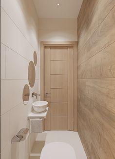 Дизайн проект Оскар 90 on Behance - Small Toilet Design, Small Toilet Room, Bathroom Design Luxury, Modern Bathroom Design, Beautiful Small Bathrooms, Narrow Bathroom, Bathroom Styling, Bathroom Inspiration, Bathroom Ideas