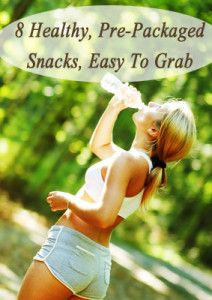 8 Healthy prepackaged snacks perfect for weight loss and building muscle