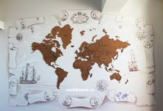 World Cork Map Discovery Travel Cork Board Push Pin Home Cork World Map, Cork Map, Travel Maps, Travel Posters, Mens Travel Bag, Research Paper Outline, English Fun, Good Day Song, Home Wall Decor