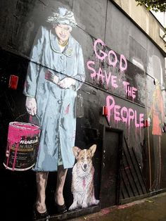 LOL, people on the street art boards I follow keep posting Mr. Brainwash.