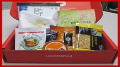 Love With Food - August 2015 (Road Trip Box)