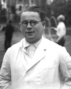 Karl Franz Gebhardt (1897 – 1948) was a German medical doctor. He served as Medical Superintendent of the Hohenlychen Sanatorium, Consulting Surgeon of the Waffen-SS, Chief Surgeon in the Staff of the Reich Physician SS and Police, and personal physician to Heinrich Himmler.  Gebhardt was the main coordinator of a series of surgical experiments performed on inmates of the concentration camps at Ravensbrück and Auschwitz.