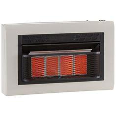 Cedar Ridge Recon Dual Fuel Vent Free Infrared Heater - 4 Plaque, Model# MD4TPU