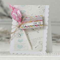 Shari Carroll: …my world – Simon Says Stamp January card kit! Scrapbooking, Scrapbook Paper Crafts, Scrapbook Cards, Card Kit, I Card, Stamp Card, Valentine Day Cards, Valentines Hearts, Homemade Birthday Cards
