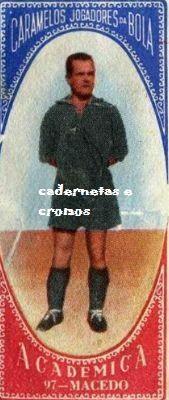 CADERNETAS E CROMOS 1: ACADÉMICA DE COIMBRA