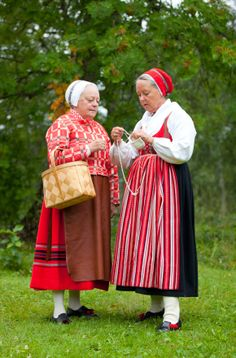 Sweden. Traditional garb.  I feel like this could be me any day now.