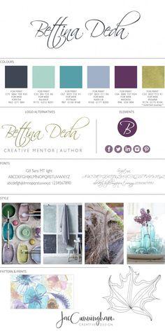How I Developed My Author Brand - Bettina Deda Colour Design