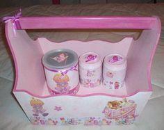 Cesta Kit Higiene - Menina