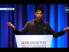 Mosab Hassan Yousef (Son of Hamas) at JPost conference