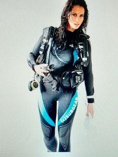 Scuba Girl, Punk, Wonder Woman, Superhero, Fictional Characters, Scuba Diving, Women, Style, Fashion