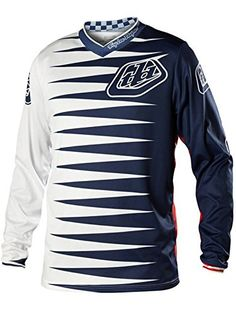 Troy Lee Designs GP Joker Youth Boys Off-Road Motorcycle Jersey - Navy/White / Large * Click image for more details.