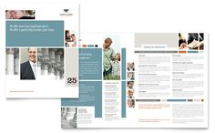 Family Law Attorneys Brochure Design Template by StockLayouts