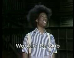 Buckwheat sings!  I laughed out loud when I found this!