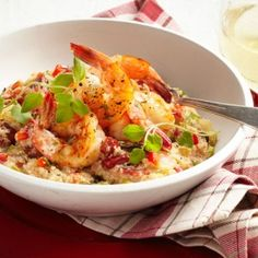 Shrimp and Grits | Easy Clean-Up! 20 One-Pot Dinners | AllYou.com Mobile