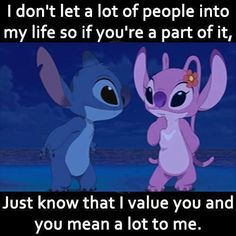 Funny True Quotes, Bff Quotes, Disney Quotes, Funny Relatable Memes, Mood Quotes, Cute Quotes, Funny Disney Jokes, Funny Minion Memes, Lilo And Stitch Memes