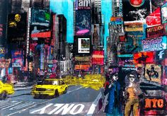 Times Square - Sandra Rauch - pictures, photography, photo art online at LUMAS