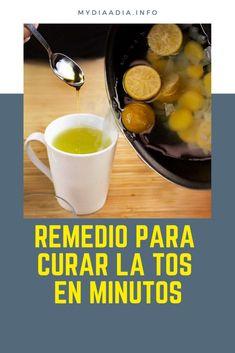 Remedio para curar la tos en minutos - Beia Vita Cough Remedies, Home Remedies, Coffee Gif, Healthy Drinks, Health Tips, Crockpot, Cooking Recipes, Breakfast, Foodies